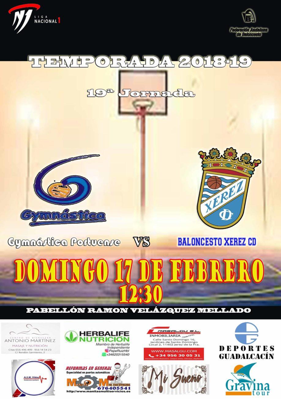 19ª Jornada Liga Nacional 1 masculina
