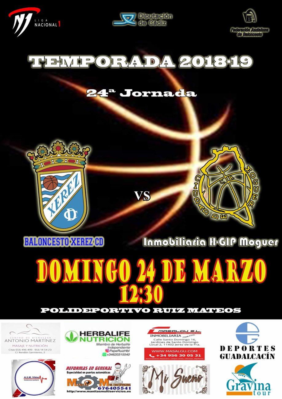 24ª Jornada Liga Nacional 1 masculina