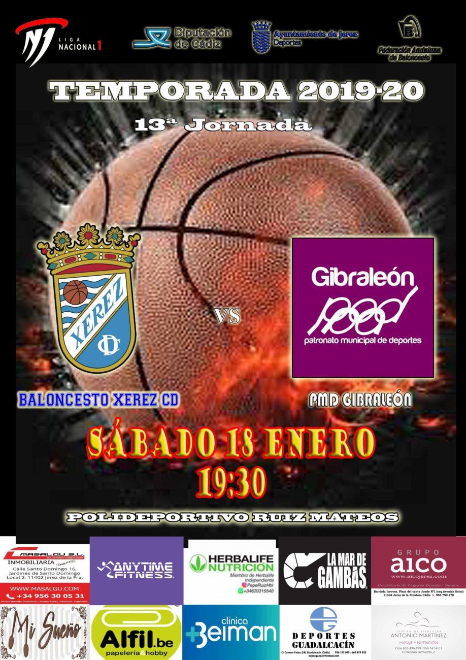 Próximo Partido: 13ª Jornada BXCD – PMD Gibraleón