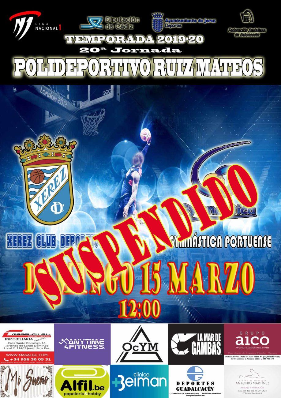 SUSPENDIDO Próximo Partido: 20ª Jornada BXCD-Gymnástica portuense